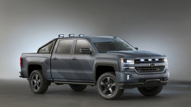 chevy silverado gets naval special ops edition. Cars Review. Best American Auto & Cars Review