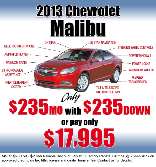 2013 chevy malibu limited time lease offer albuquerque chevrolet. Cars Review. Best American Auto & Cars Review