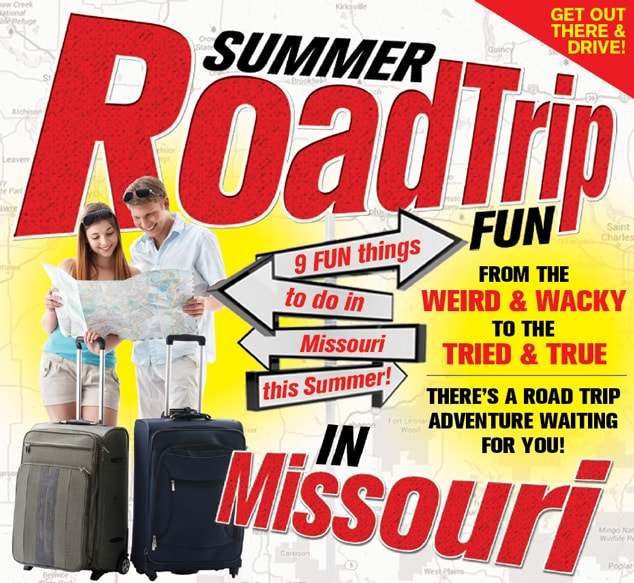 9 Fun Things to do in Missouri: Summer Road Trip Edition