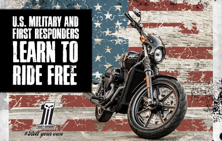 American Heros Learn to Ride Free