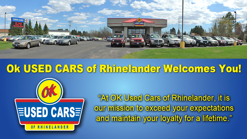 Rhinelander Used Cars