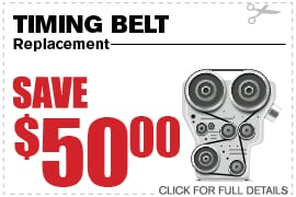 Timing Belt Replacement Special Richardson TX
