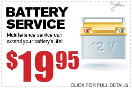 Vehicle Battery Specials Richardson TX