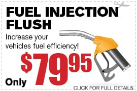 Fuel Injection Flush Specials Richardson TX