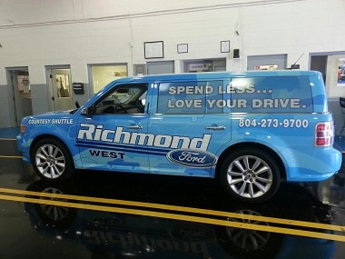 Ford service department serving Midlothian