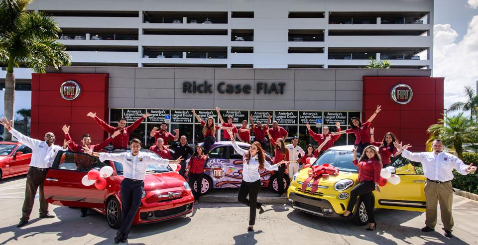 FIAT dealership and staff serving Miami Dade and Broward County
