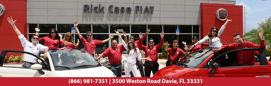 FIAT dealership and employees serving West Palm Beach