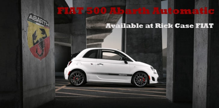 FIAT 500 Abarth Automatic Banner