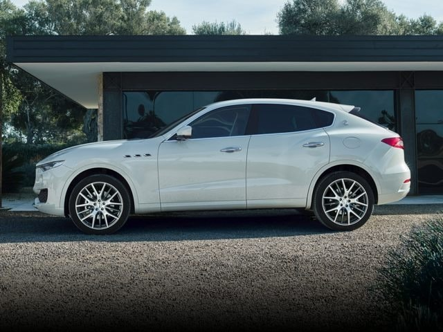Maserati Levante side view