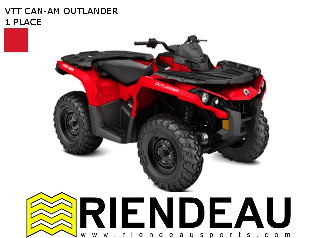 2017 CAN-AM Outlander 450 / 570