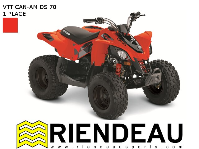2017 CAN-AM DS 70 - 90 - 90 X - 250
