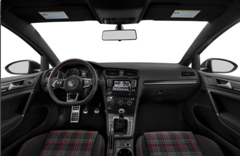 2017 VW Golf GTI Interior