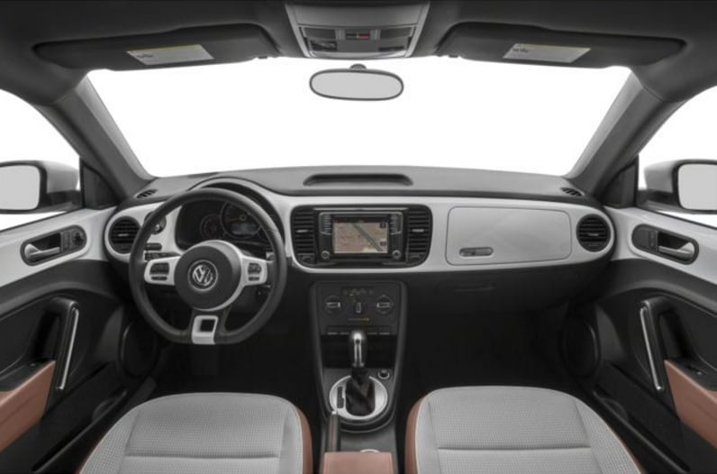 2017 VW Beetle Interior
