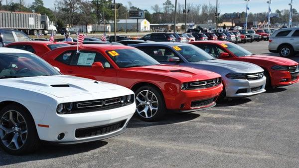 Dodge Charger Line Up at Riverside CJDR
