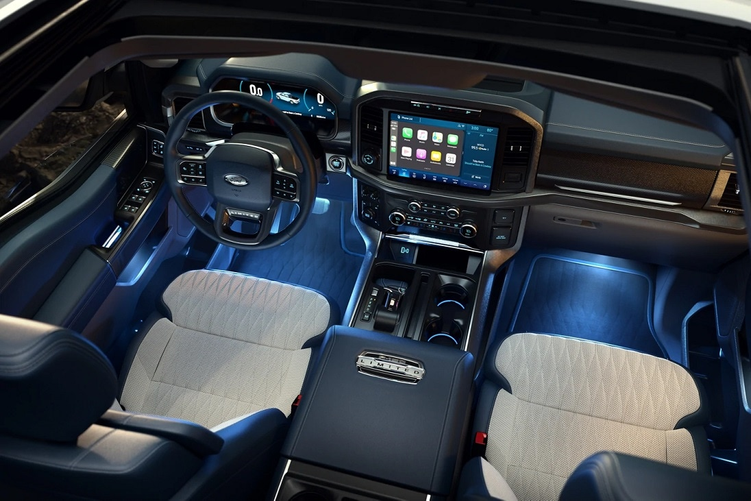 2021 Ford F-150 Interior Design