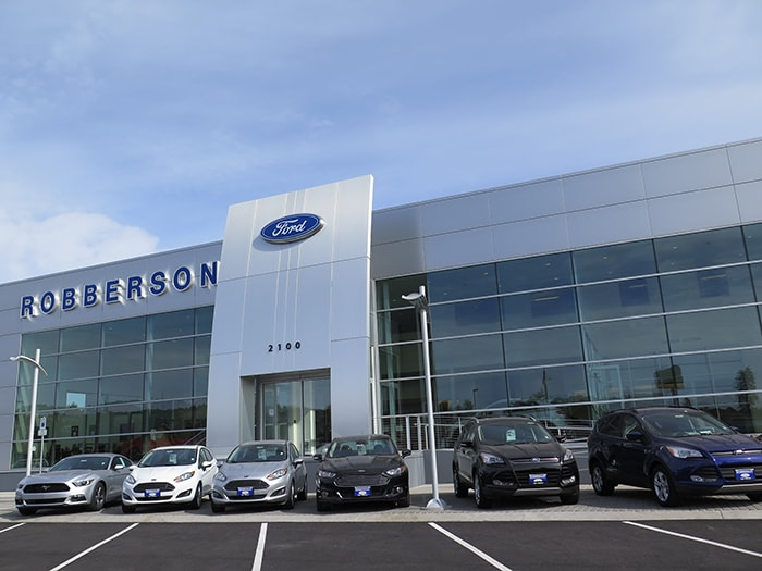 Robberson ... & Robberson Ford Sales Inc. | New Ford dealership in Bend OR 97701 markmcfarlin.com