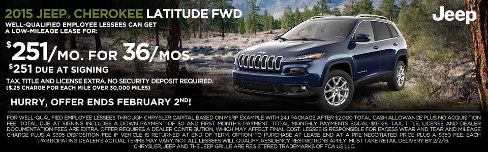jeep cherokee offer at rochester hills chrysler jeep dodge ram. Cars Review. Best American Auto & Cars Review