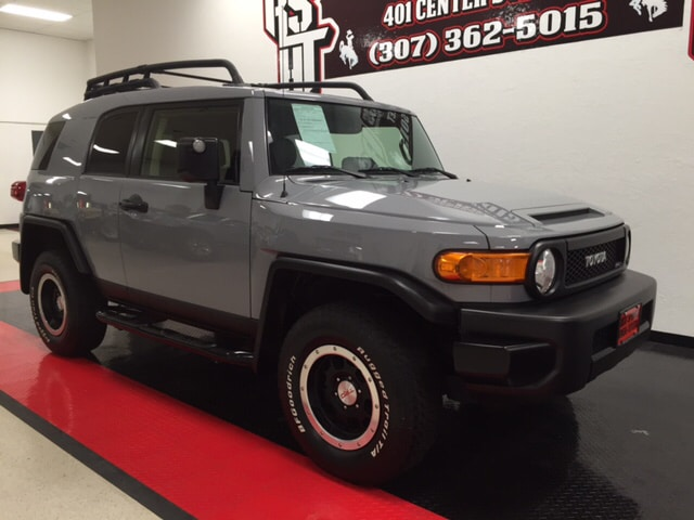 Used 2013 Toyota FJ Cruiser For Sale  Rock Springs WY
