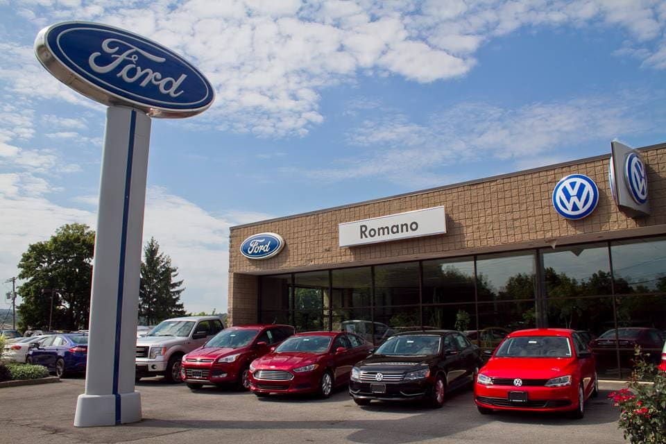 Your Local Ford Dealer And Service Center Romano Ford - Nearest ford dealership