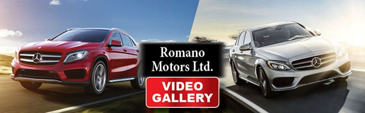 New mercedes benz videos serving syracuse romano motors ltd for Romano mercedes benz