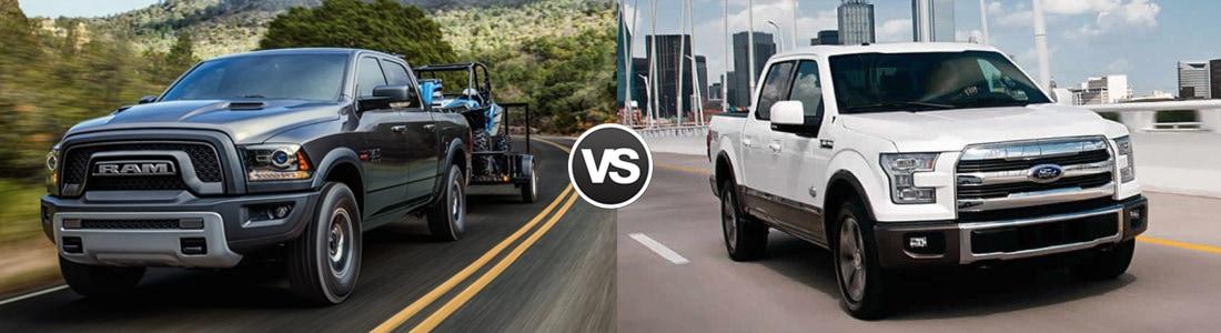 2017 Ram 1500 vs 2017 Ford F-150