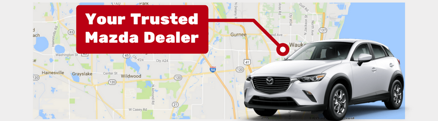 view the locations rosen mazda of waukegan serves | view here