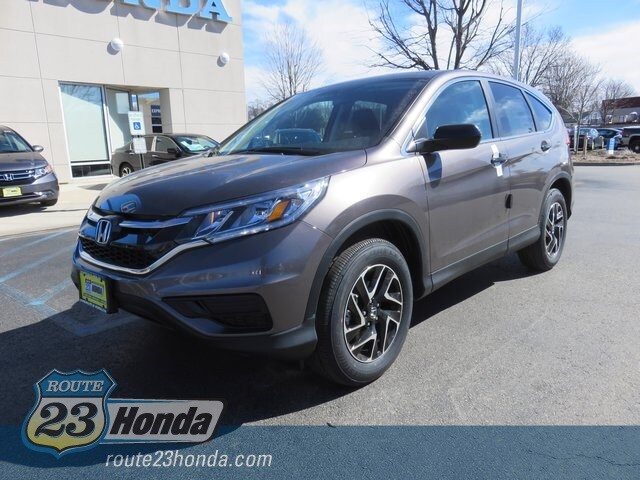 New 2016 Honda CR-V SE AWD SUV For Sale in Pequannock Township