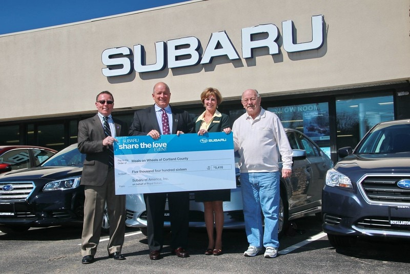 royal subaru cortland