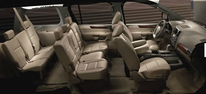 Calgary 2013 Nissan Armada Platinum Edition Royal Oak Nissan