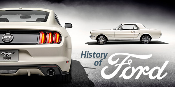 History of Ford | Rudig Jensen Ford CDJR | New Lisbon, WI