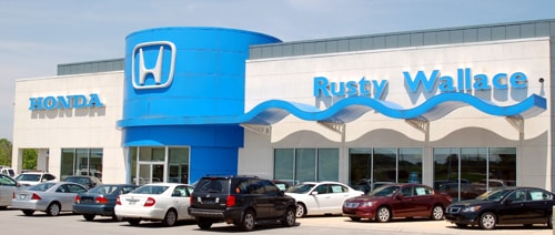 Rusty wallace honda new used honda dealership in for Honda dealers in tennessee