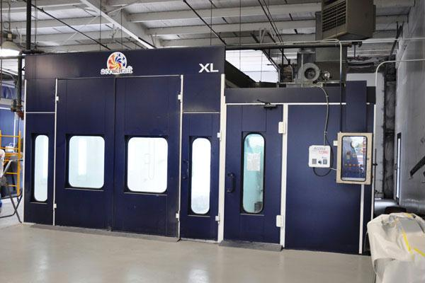 Grapevine Collision Center Paint Booth