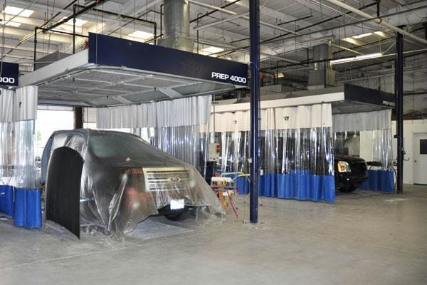 Grapevine Collision Center Prep Area 3