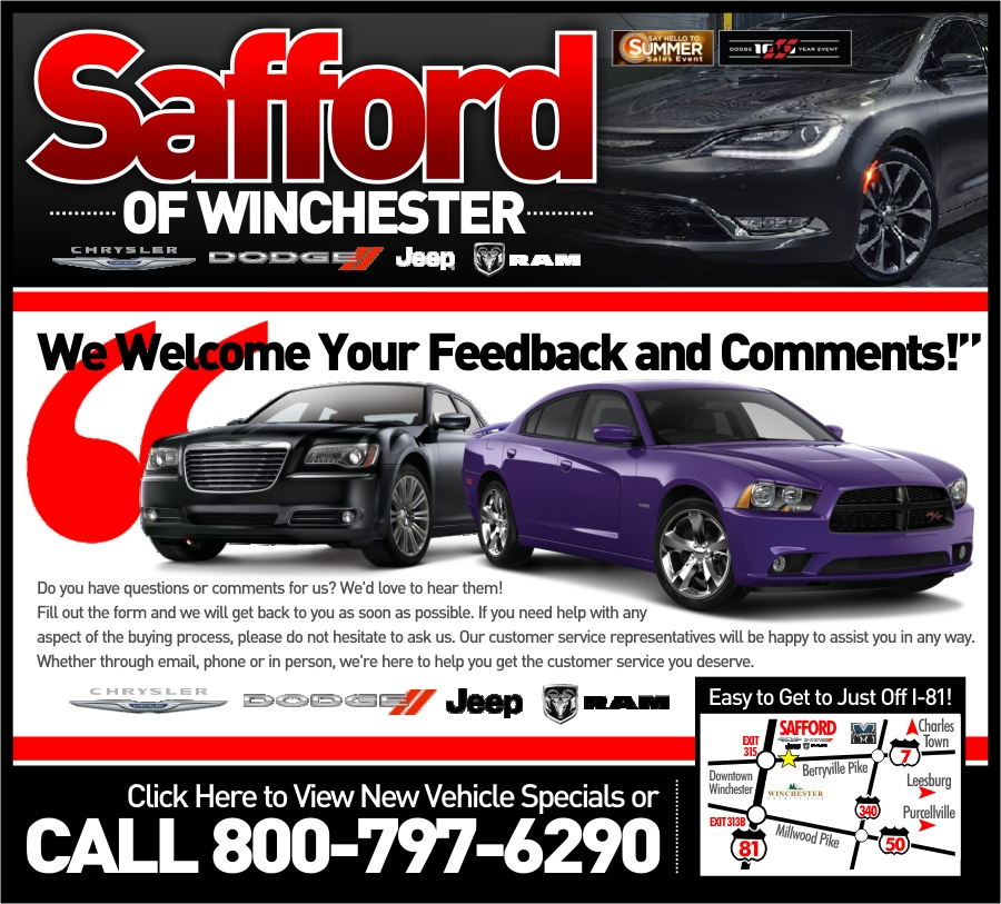 Contact Safford Of Winchester