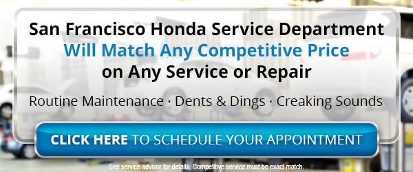 Honda Service Center serving SF Bay Area & Oakland CA