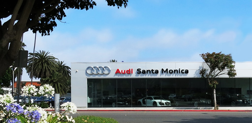 Contact Santa Monica Audi New Audi Dealer Near Los Angeles - Audi dealers los angeles area