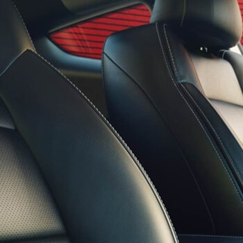 Well-Appointed Interior - The Mustang EcoBoost® Premium and GT Premium get it all right. From the leather-trimmed seats right down to the leather-wrapped shift knob.
