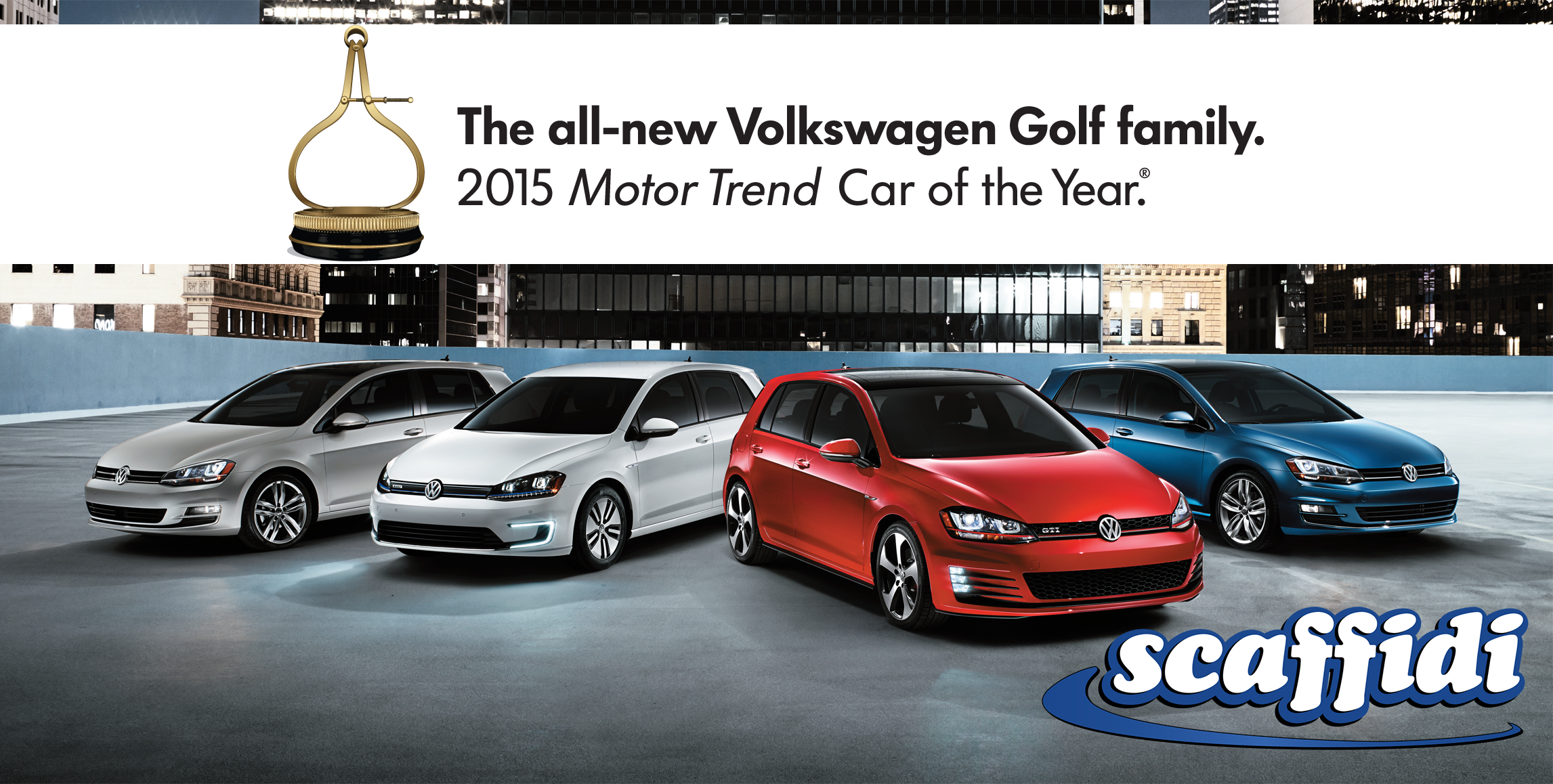 The 2015 Motor Trend Car of the Year  The allnew VW Golf Family