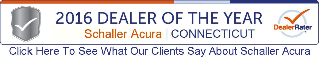 Schaller Acura New Acura Dealership In Manchester CT 06040