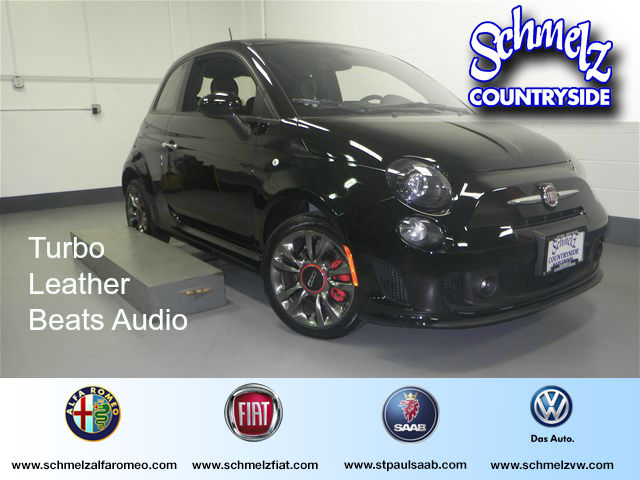 2016 FIAT 500 Turbo Collection 3 w/ Leather & Beats Audio Hatchback