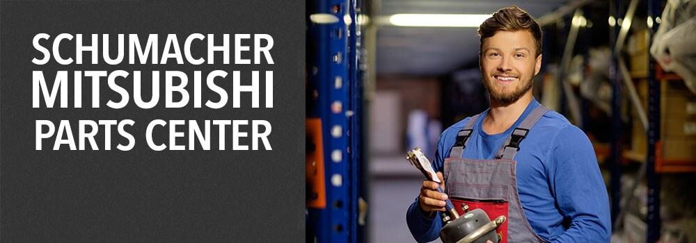 Schumacher Mitsubishi Parts Banner