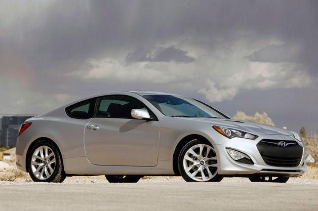 new Hyundai Genesis Coupe