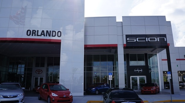 Scion car service in Orlando