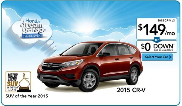 Honda special lease programs for Honda pilot lease special
