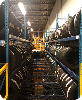 Our inventory of tires for your Honda