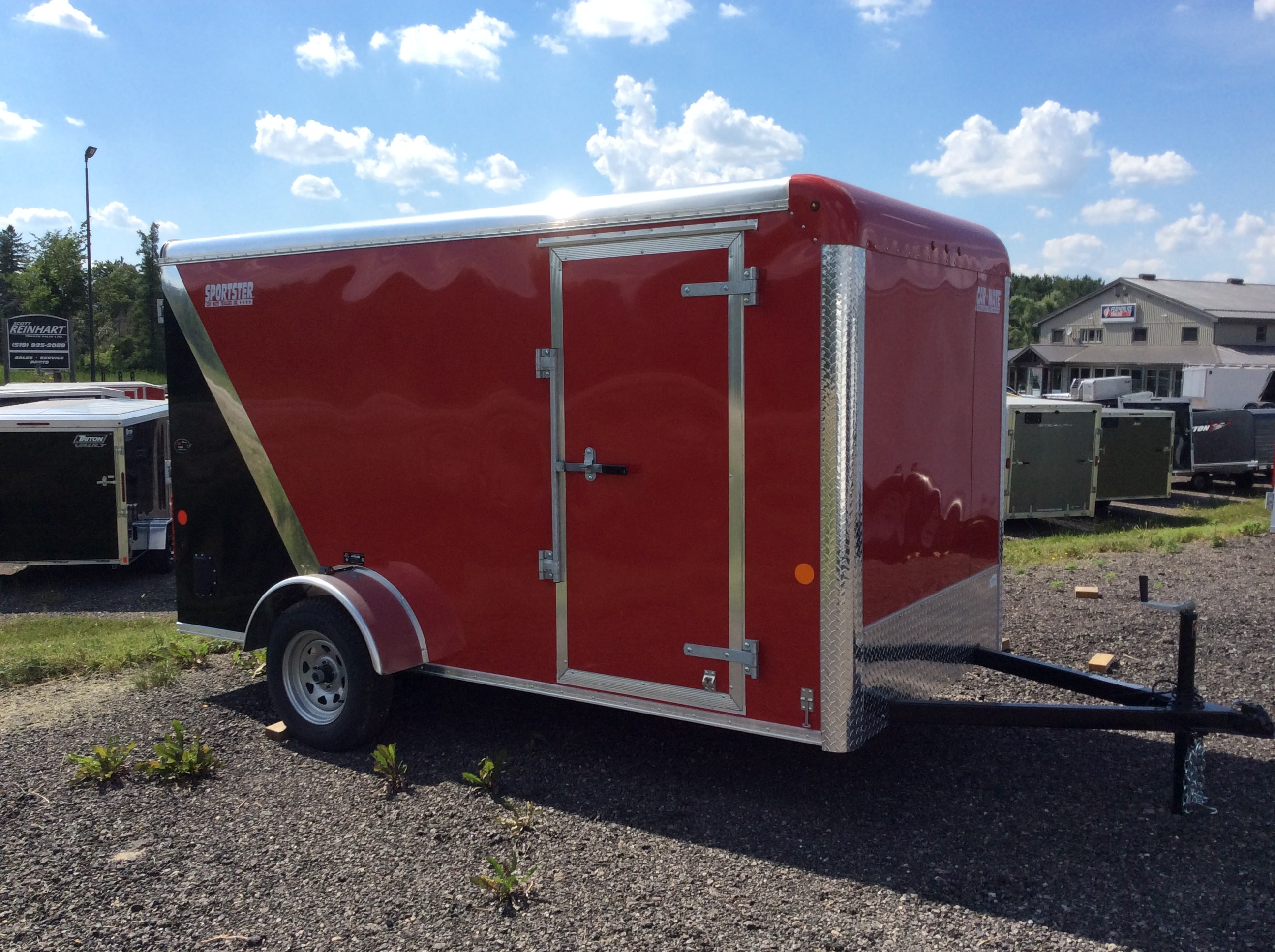 Car Mate Enclosed Cargo Trailers, High Quality Cargo Trailers ...