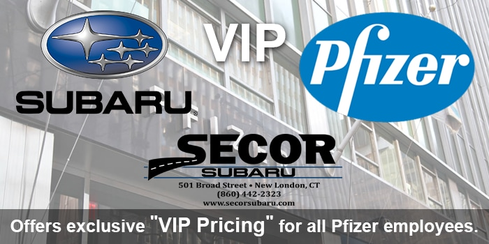 pfizer vip secor subaru pfizer employee discount at new. Black Bedroom Furniture Sets. Home Design Ideas