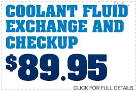 Coolant Flush & Check Up