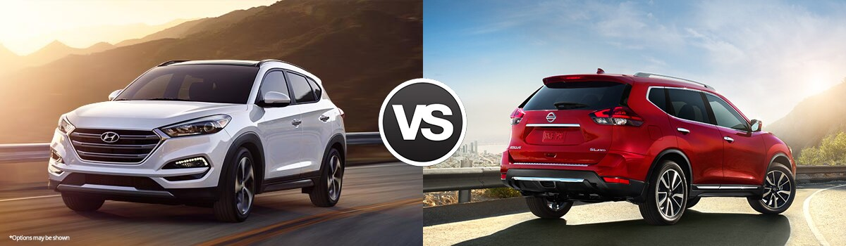 2017 Hyundai Tucson vs Nissan Rogue