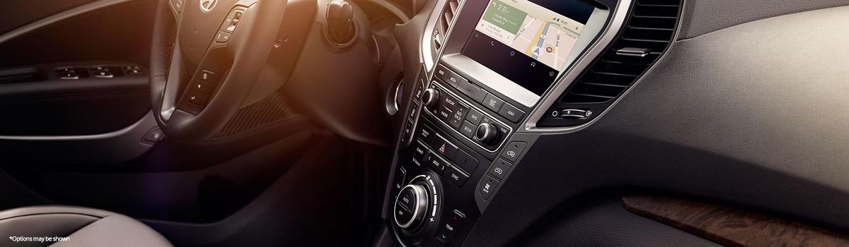 2018 Hyundai Santa Fe SE Interior